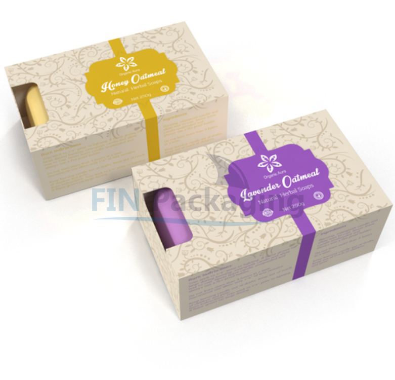 Soap Boxes Packaging Options