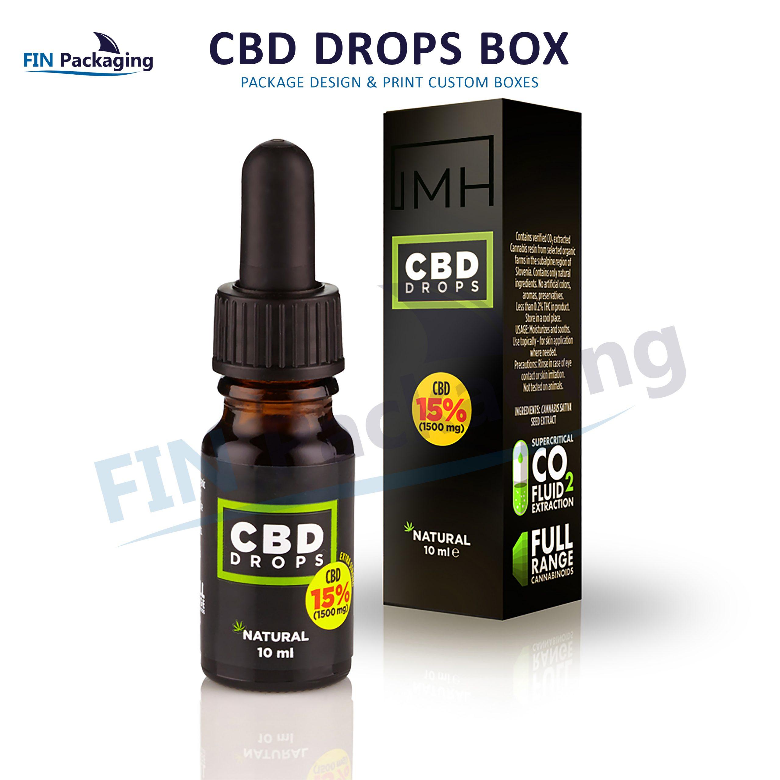 Custom CBD Boxes | CBD Oil Packaging