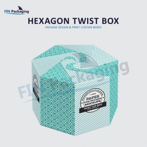 Hexagon Twist top box